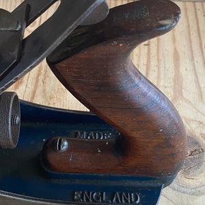 Vintage RECORD England No.4 1/2 rosewood handles plane T3034