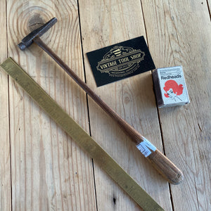 Antique FRENCH Jewellers CROSS PEEN Hammer Y410