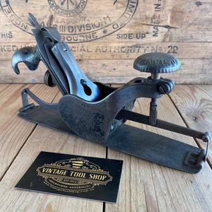 Antique STANLEY USA No:113 COMPASS Plane T7392