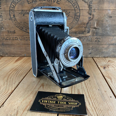 Vintage KODAK Sterling II England folding CAMERA display item T7263