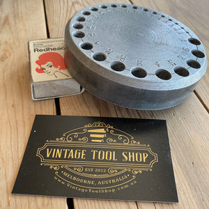 Vintage ALLOY Drill Bit STAND Holder T685