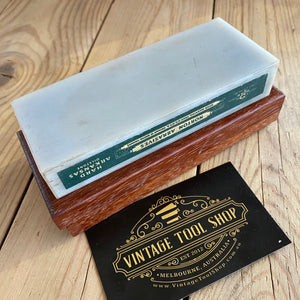 Vintage NORTON HARD TRANSLUCENT Arkansas natural sharpening stone