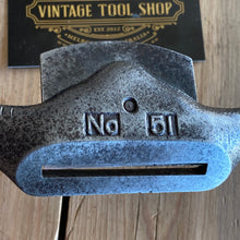 Load image into Gallery viewer, Vintage No:51 flat STANLEY SPOKESHAVE  T7744