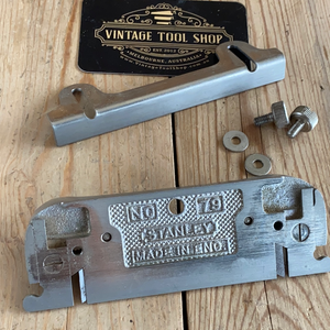 Vintage STANLEY No.79 Side RABBET Rebate PLANE T7820