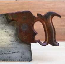 Load image into Gallery viewer, PREMIUM Quality SHARP! DISSTON 1865-71 No:9 Rip HANDSAW Saw
