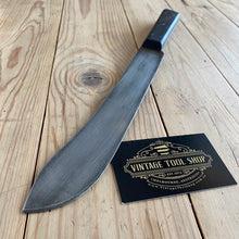 Load image into Gallery viewer, Vintage MOTTERSHAW & Rowe Carbon Steel BUTCHERS KNIFE T6754