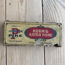 Load image into Gallery viewer, Vintage PIKE KOENIG Barber razor hone IOB A67