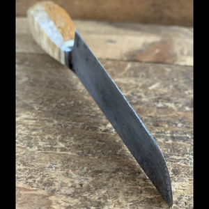 Vintage MASUR BIRCH & Carbon steel KNIFE
