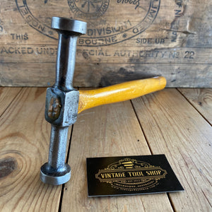 Vintage Double Faced METALWORK Planishing HAMMER T5503