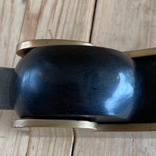 Load image into Gallery viewer, Antique EBONY & BRONZE infill shoulder PLANE T648