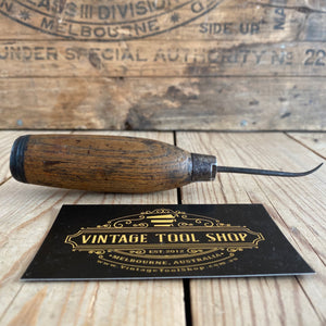 Vintage LEATHERWORK AWL with chuck T6976