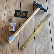 Load image into Gallery viewer, Vintage STANLEY England Warrington Cross Peen HAMMER T5141
