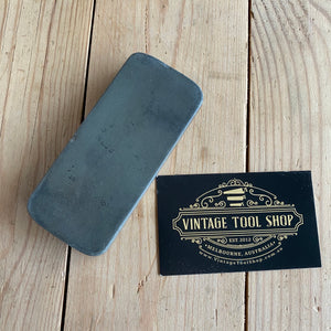 Antique BARBERS HONE dual compound sharpening STONE A10