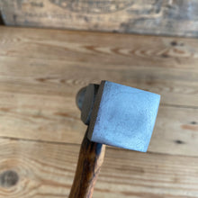 Load image into Gallery viewer, Vintage Metalwork Planishing HAMMER square and round face wooden handle