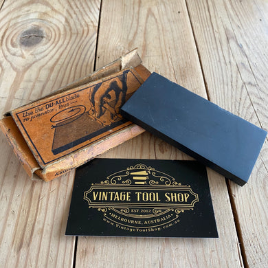 Vintage DO-ALL razor barber hone sharpening stone A43