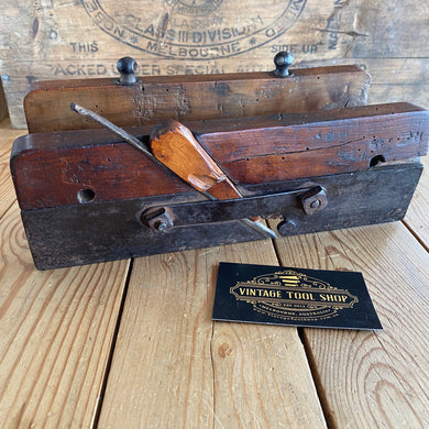Antique early rustic FRENCH PLOUGH Plane Y1439