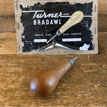 Load image into Gallery viewer, Vintage TURNER Australia Upholstery AWL BRADAWL Hole Marking Drill
