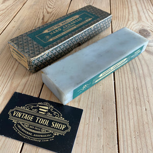 Antique NORTON PIKE HARD TRANSLUCENT ARKANSAS natural sharpening stone A7