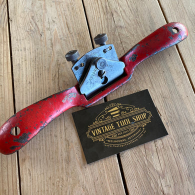 Vintage RECORD England No.A1. Adjustable Iron convex SPOKESHAVE spoke shave T7591