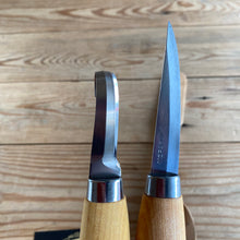 Load image into Gallery viewer, NEW Swedish MORA carving knife set hook spoon making whittling Sweden steel