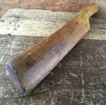 Load image into Gallery viewer, Vintage BOXWOOD Lead DRESSING STICK plumbers tool mallet