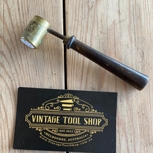 Load image into Gallery viewer, Antique FRENCH lead shot & gunpowder MEASURING tools Y1433