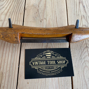 Antique BEECH wooden spokeshave T419
