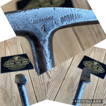 Load image into Gallery viewer, Vintage BOBMANN German Infill Type UPHOLSTERY Hammer T3216