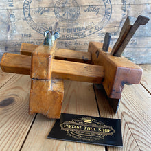 Load image into Gallery viewer, Antique FRENCH Boxwood PLOUGH Plane Y1896