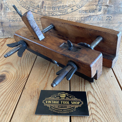 Antique Early FRENCH Screw Stem PLOUGH PLANE Y1900