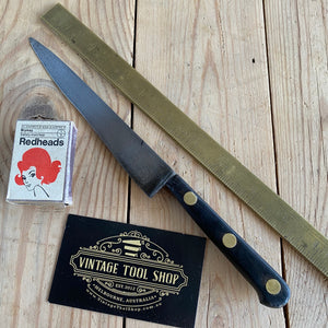 Vintage FRENCH Carbon Steel CHEFS KNIFE T6760