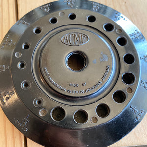 Vintage Drill Bit Stand ACME Engineering MELBOURNE Made T105
