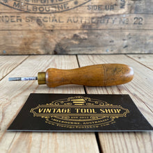 Load image into Gallery viewer, Vintage Carpenters AWL Bradawl with wooden handle  T6986