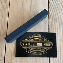 Load image into Gallery viewer, Antique small BLACK hard ARKANSAS natural sharpening stone A63