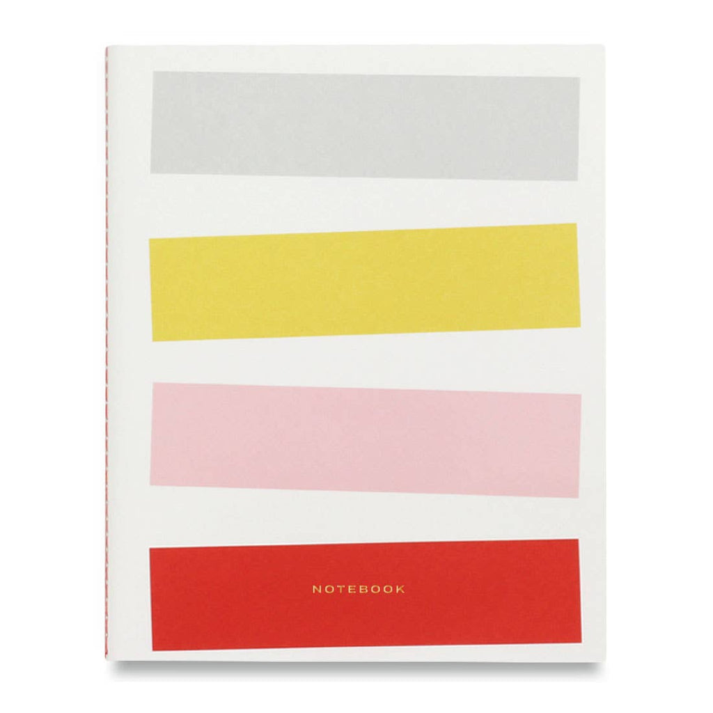 Colorblock Notebook