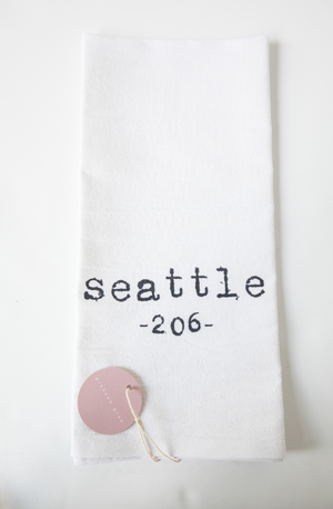 City Tea Towel