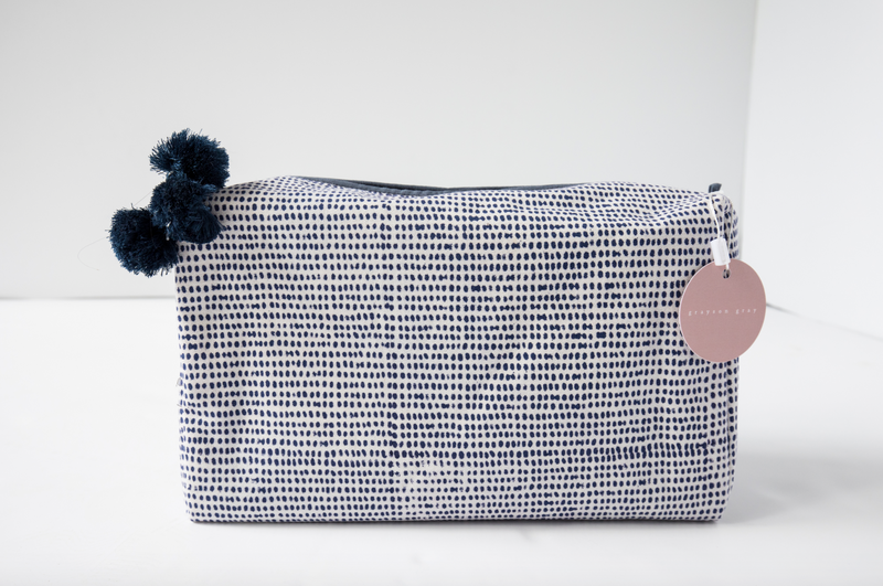 Tiny Dot Toiletry Bag