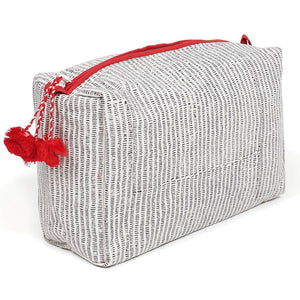 GG Striped Toiletry Bag