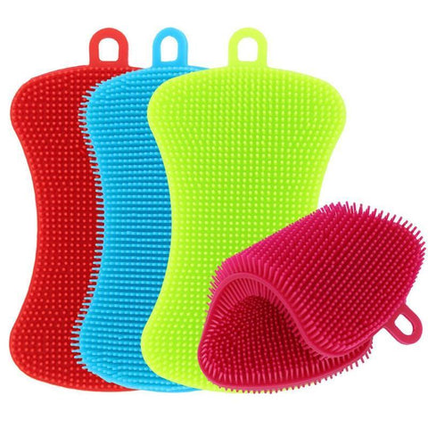 Antibacterial Cleaning Sponge (4 Pack)