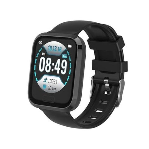 P30 Blood Pressure, Heart Rate, Fitness & Sleep Monitoring Smart Watch For iPhone & Android