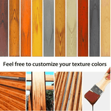 "EZ Grain™ Wood Paint/Graining Tool Set- 2Pcs (Set Includes 3"" And 6"" Painting Tools)"