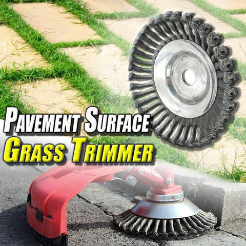 Weeds Away™ All Surface Weed & Grass Trimmer Replacement Brush Head (*Trimmer Not Included- Brush Head Only*)