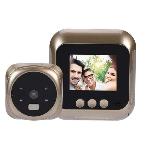 2.4 Inch LCD Video Doorbell Night Vision Smart Door Bell Security Camera LED