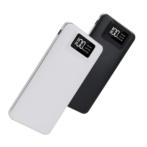 Slim 20000 mAh Power Bank (Black or White)