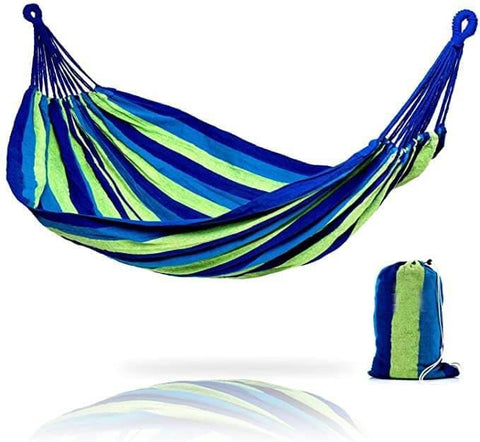 Brazilian Single or Double Hammock with Carry Bag