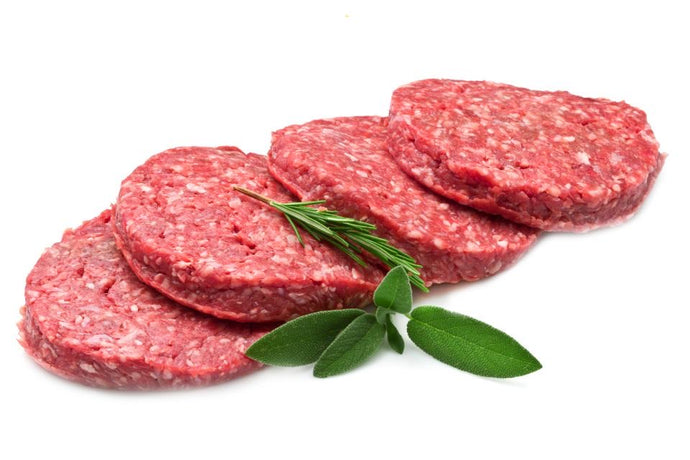 Ground Beef Patty Hormone Free 4 oz. (40 per case)