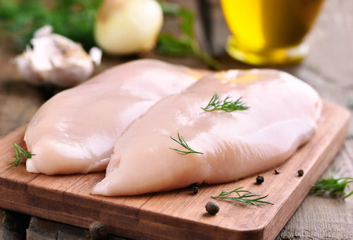 Chicken Breast Boneless/Skinless 6 oz. Portions (20 portions per case)