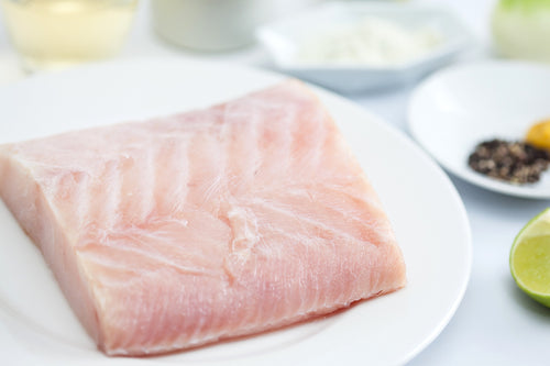 Chilean Sea bass Skin-off 7 oz. Portions (4 portions per pack)