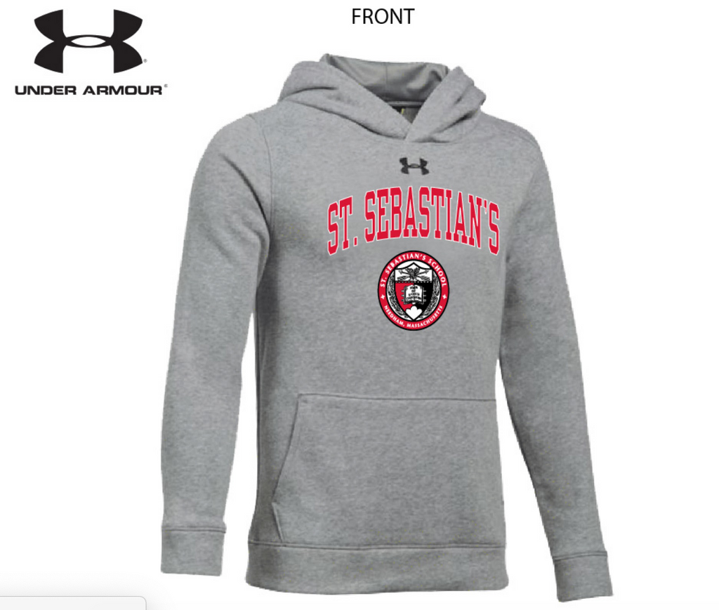 Sweatshirt - Under Armour Hooded - Grey