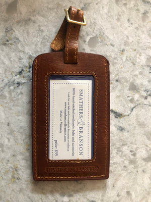 Luggage Tag - Smather's & Branson